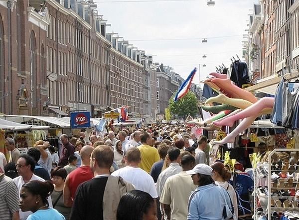 Albert cuyp markt il mercato pi popolare di amsterdam - Il mercato della piastrella moncalieri orari ...